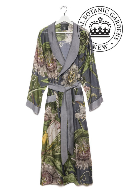 One Hundred Stars & Kew Passion Flower Grey Gown