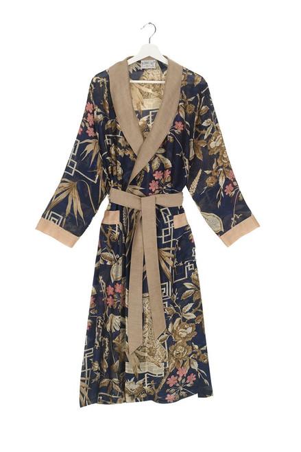 One Hundred Stars Bamboo Indigo Gown
