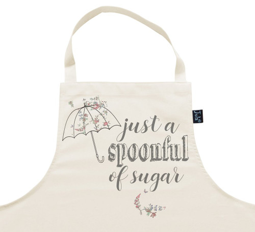 Just A Spoonful Of Sugar Apron by Jola