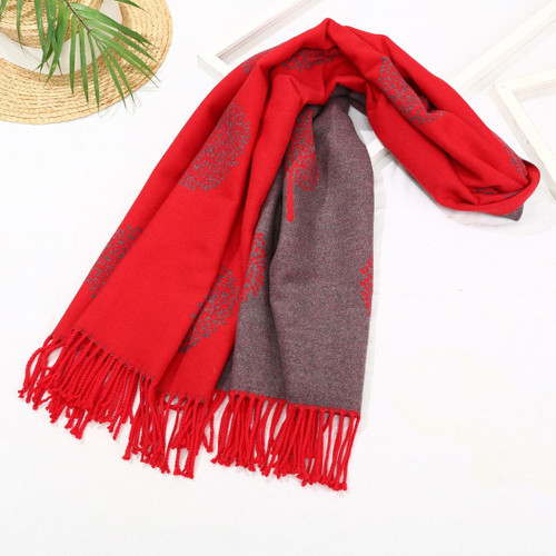 Red Mulberry Scarf