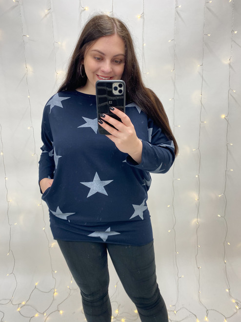 Stargazing Tunic | Navy