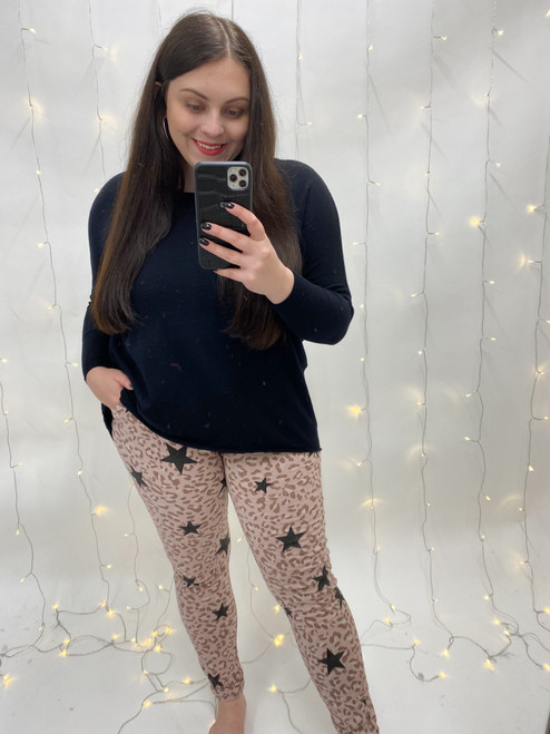 The Star Leo Print Magic Trousers | Pink