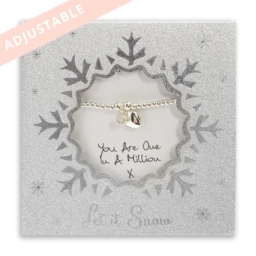 You Are One in a Million Bracelet by Life Charms
