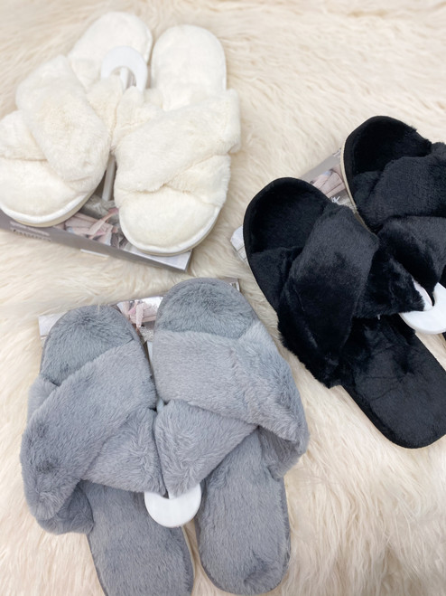 Lapland Fluffy Slippers