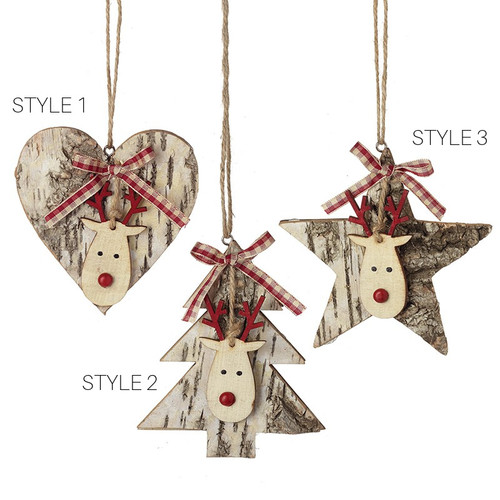 Birch Wood Decorations