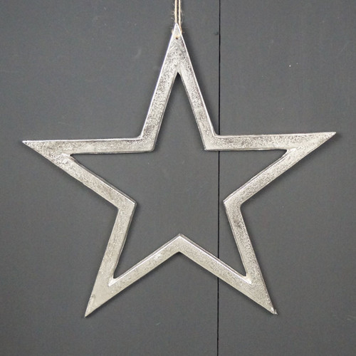 Nickel Finish Star