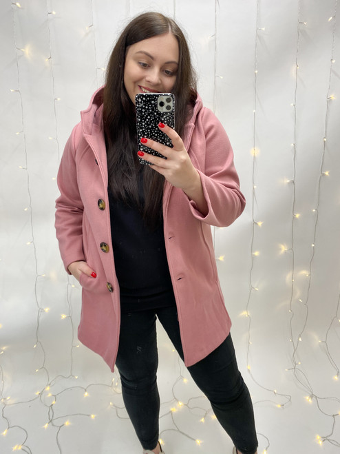 The Robin Coat   Pink