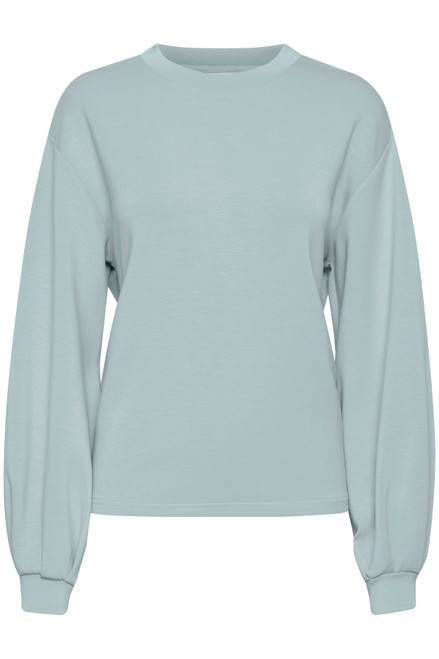 The Pusti Pullover by b.young   Blue Surf
