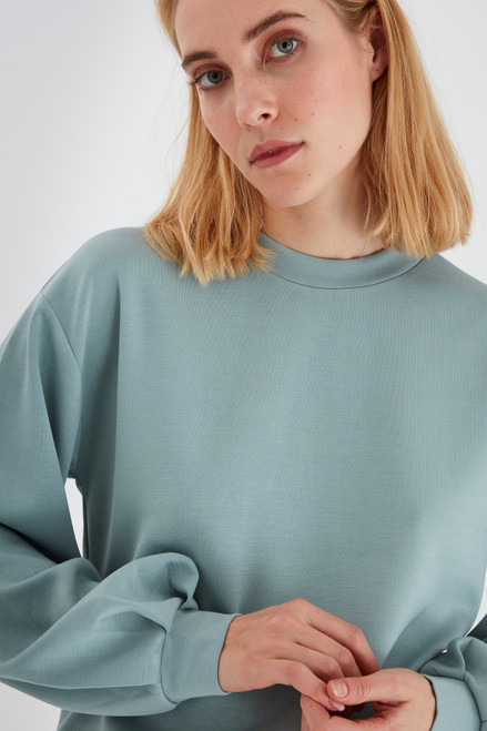 Pusti Pullover by b.young | Blue Surf