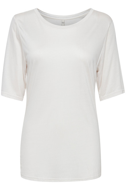 Carla T-Shirt by Pulz   White Sand