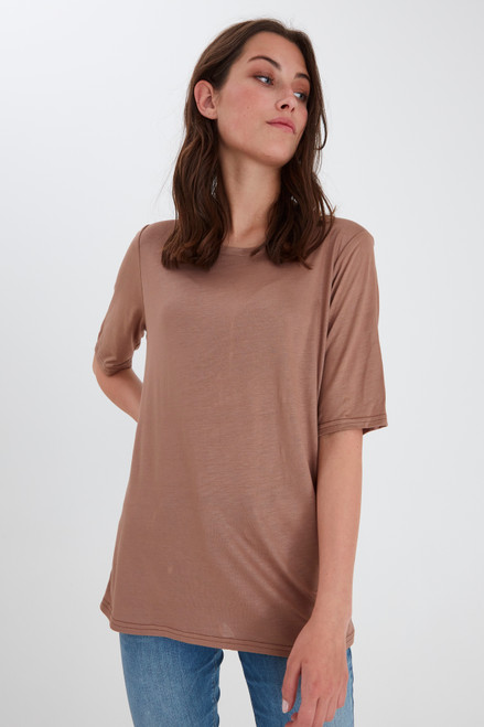 Carla T-Shirt by Pulz   Brownie