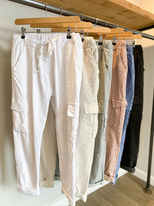The itsy Bitsy Cargo Magic Trousers