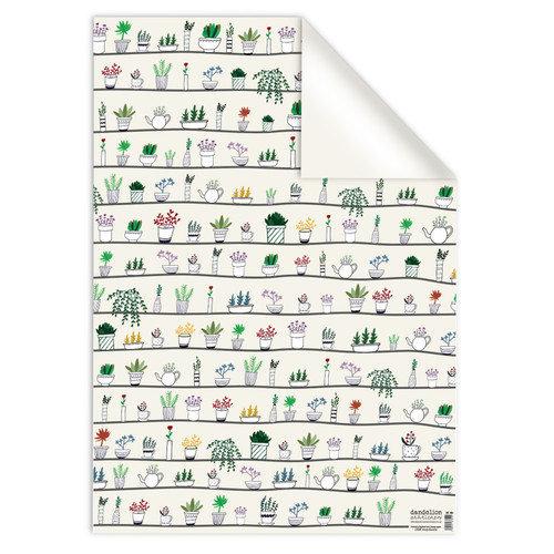 Wrapping Paper | Plant Pots