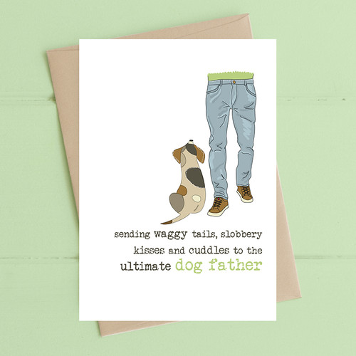 Ultimate Dog Father Card