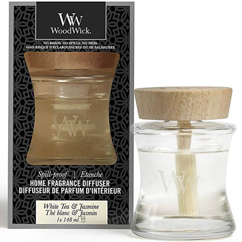 WoodWick White Tea & Jasmine Spill-Proof Fragrance Diffuser