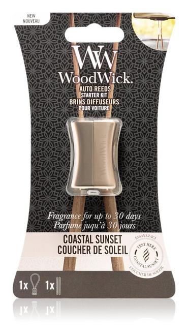 WoodWick Linen Auto Reed Starter Kit