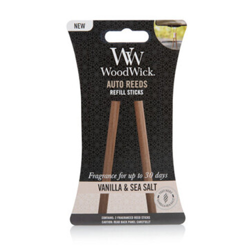 WoodWick Vanilla & Sea Salt Auto Reed Refill