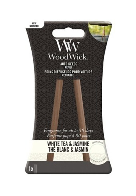 WoodWick White Tea & Jasmine Auto Reed Refill