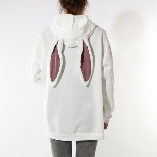 The Big Bunny Hoodie | White
