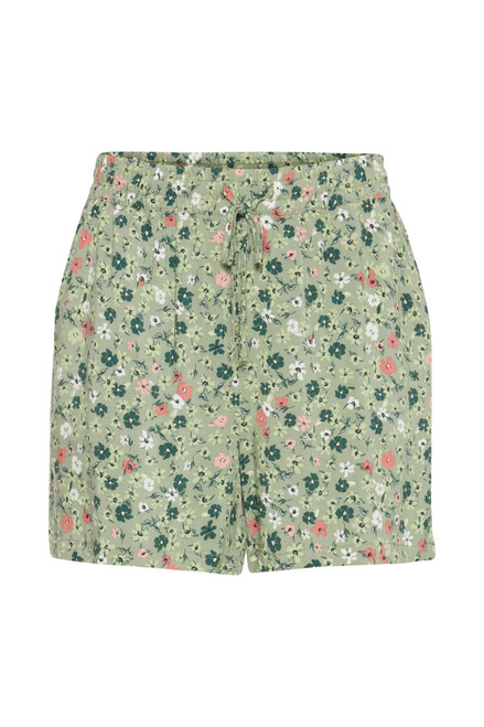 Joella Shorts by b.young   Oil Green Floral
