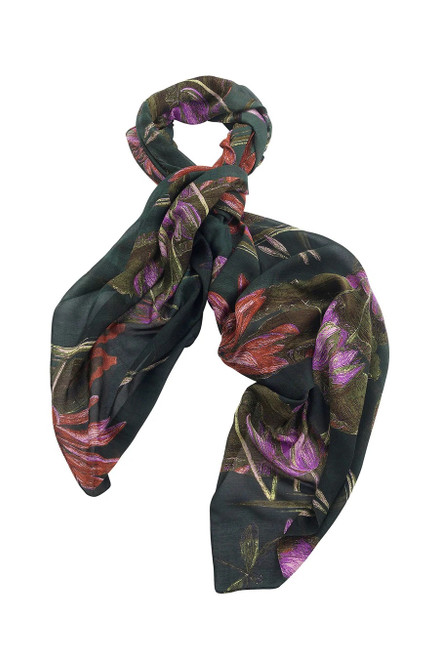 One Hundred Stars Marianne North Indian Lily Scarf