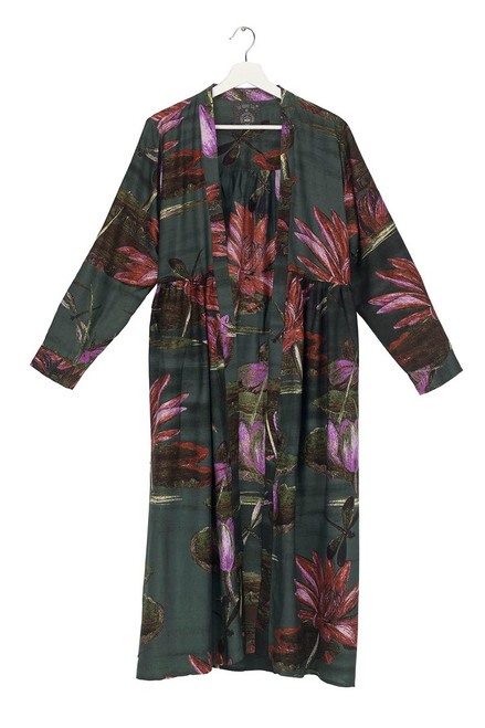 One Hundred Stars Marianne North Indian Lily Duster Coat