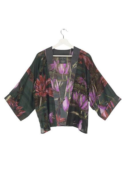One Hundred Stars North Indian Lily Kimono