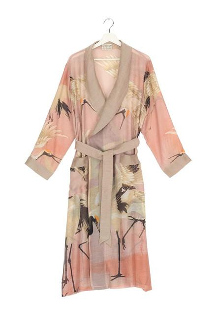 One Hundred Stars Stork Plaster Pink Gown