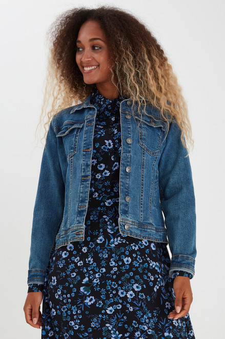 Pully Denim Jacket by b.young