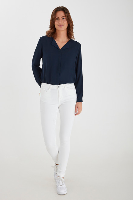 Lola Luni Jeans by b.young   White