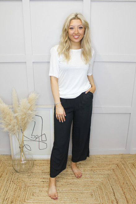 Joella Cropped Pants by b.young