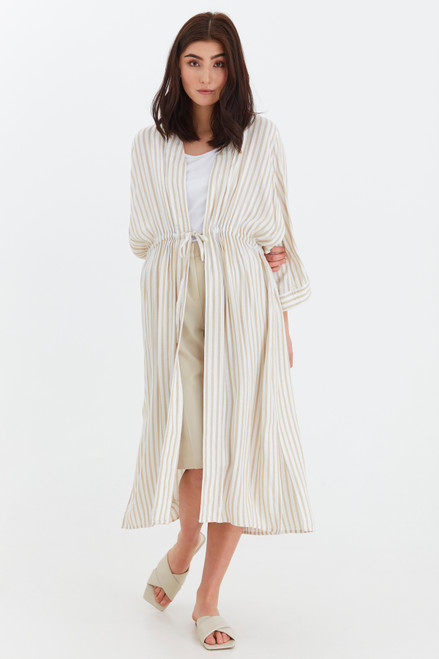 Graci Caftan by b.young   Oyster
