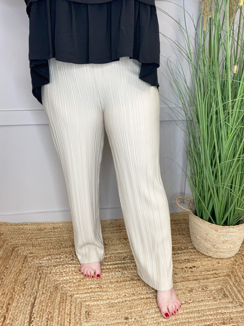 The Stone Pleat Trousers
