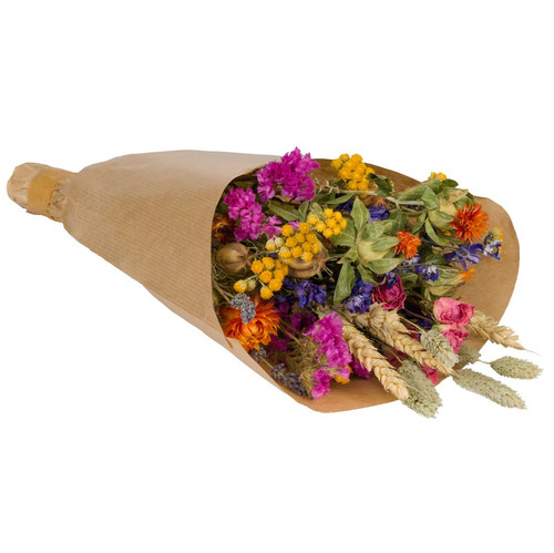 Small Multi Coloured Dried Flower Bouquet