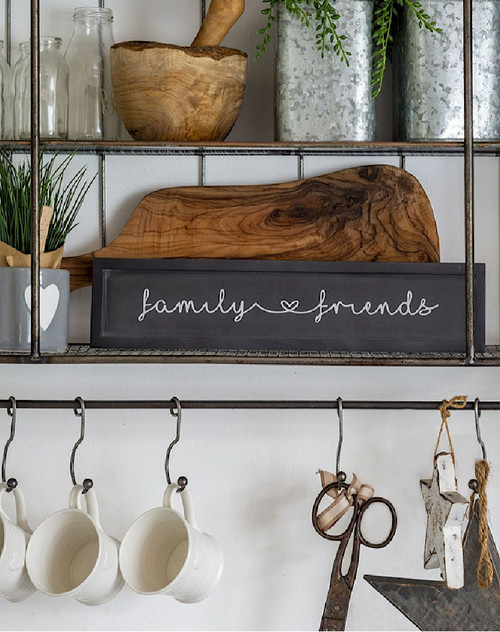 Black Family and Friends Sign