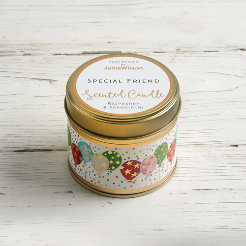 Special Friend - Raspberry & Frangipani Large Candle