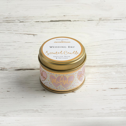 Wedding Day - English Rose & Vetiver Small Candle