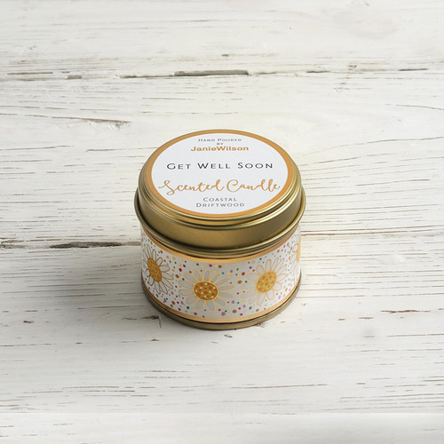 Get Well Soon - Coastal Driftwood Small Candle
