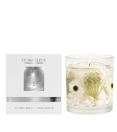 Stoneglow Natures Gift Beach Daisy - Natural Wax Gel Scented Candle