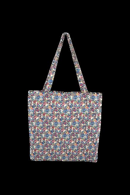 The Lulu Cotton Shopper | Botanical Blue