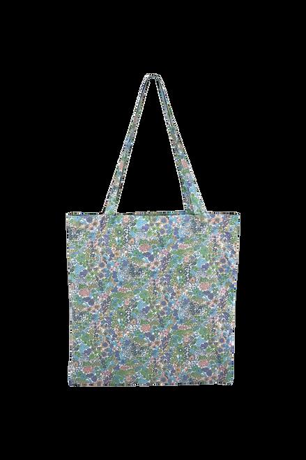 The Lulu Cotton Shopper | Botanical Mint