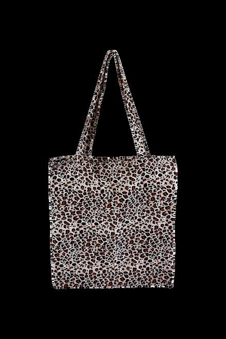 The Lulu Cotton Shopper   Brown Leopard