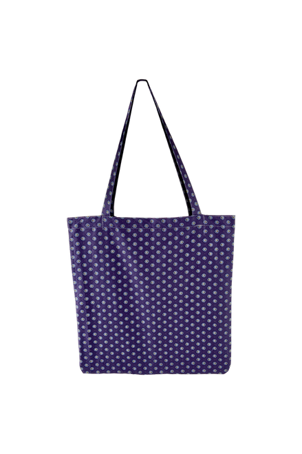 The Lulu Cotton Shopper | Purple Blossom