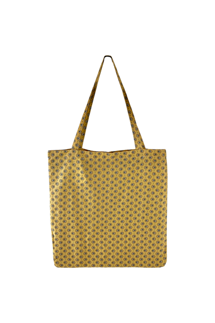 The Lulu Cotton Shopper | Yellow Blossom