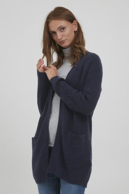 The Olympia Cardigan by b.young | Peacoat