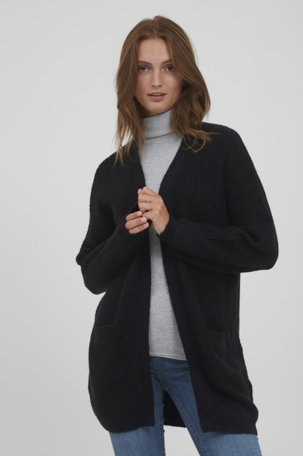 The Olympia Cardigan by b.young | Black