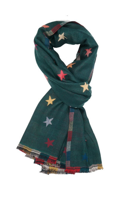 The Storm Star Scarf | Teal