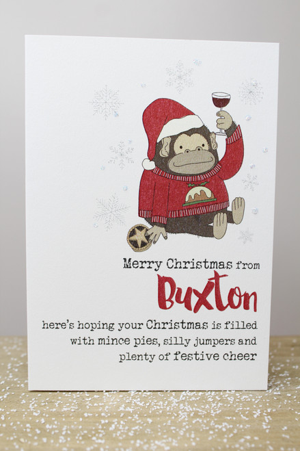 Merry Christmas From Buxton Card
