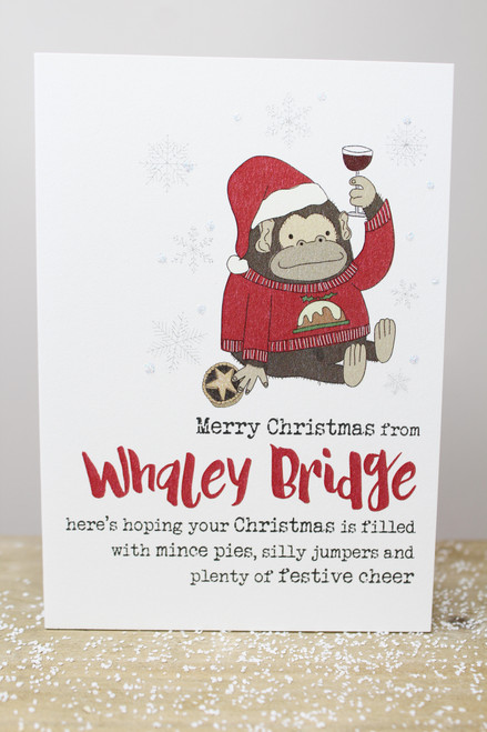 Merry Christmas From Whaley Bridge Card