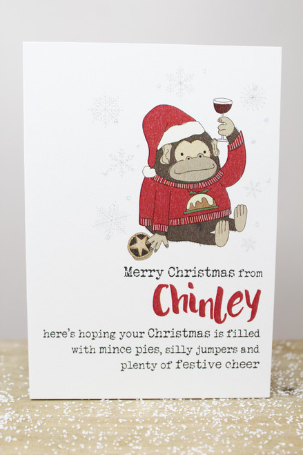 Merry Christmas From Chinley Card